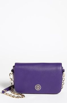 Tory Burch 'Robinson - Mini' Saffiano Leather Crossbody Bag available at #Nordstrom