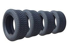 ARISUN 205/50-10 DOT Low Profile Golf Cart Tires - Set of 4