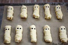 Les petits fantômes surimi emmitouflés