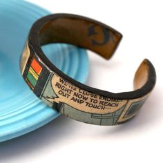 bracelet from card board tube