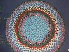 Make a rag rugs out of t-shirts!