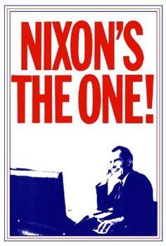Richard Nixon Presidential Campaign Poster Nixon's the Presidential Campaign Posters, Political Campaign, Vintage Advertising Posters, Vintage Advertisements, Political Logos, Us Presidents, The One, Politics, Poster Prints