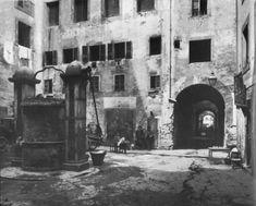 Description Antico ghetto di firenze before 1885