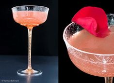 Persian Rose  2 oz Gin  1 ¾ oz sweet lemon juice (not regular lemon, not Meyer lemon)  ½ oz lemon juice  ½ oz Cherry Heering (can substitute other cherry-flavored liqueur)  ¼ oz rosewater  ¼ oz agave nectar (can substitute simple syrup)    Tools: cocktail shaker, strainer  Glass: chilled cocktail glass or coupe  Garnish: rose petal    Place ingredients in a shaker filled with ice and shake well.  Strain into your glass and garnish with a rose petal if you have one handy.