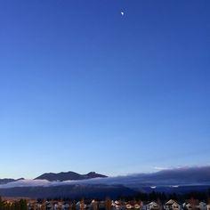 goodnight moon #seattle #nofilter #pnw