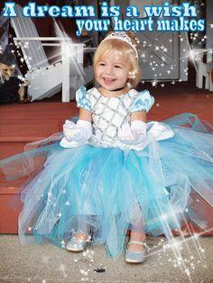Cinderella Tutu Dress by RayneBelles on Etsy