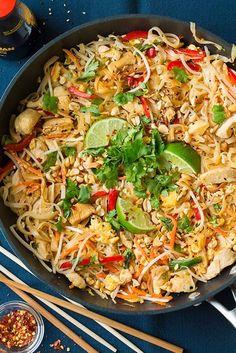 Pad thaï au poulet - On fond pour le pad thaï - Elle à Table