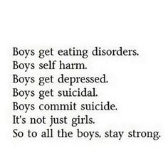 To all the boys out there <3