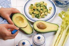 This may sound a little adventurous but you wont taste the difference: Switch out half of the butter in a cookie recipe for mashed avocado. This simple change will reduce fat content by and cut the number of calories by nearly as much. Youll still ge Think Food, I Love Food, Food For Thought, Good Food, Yummy Food, Tasty, Healthy Snacks, Healthy Eating, Healthy Recipes