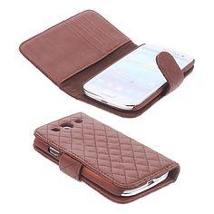 Rooster stijl pu lederen tas met Card Slot voor Samsung Galaxy S3 I9300 (verschillende kleuren) – EUR € 16.14