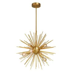 Trendoffice: Sunny Yellow for Your Home Sputnik Chandelier, Pendant Lighting, Thing 1, Modern Pendant Light, Bronze Finish, Chrome Finish, Gold Pendant, Modern Contemporary, Light Fixtures