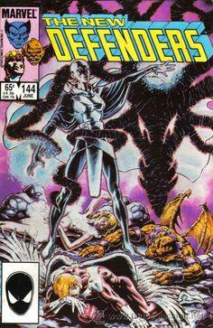 New Defender # 144 by Chris Warner Comic Book Covers, Comic Books, Defenders Comics, New Defender, Dark Moon, Marvel Entertainment, Vintage Comics, Dark Horse, Looks Cool