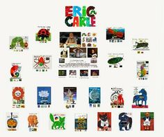 FREE Eric Carle Prezi! 21 of his books with links about each book!