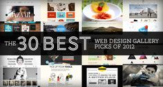 The 30 Best Web Design Gallery Picks of 2012