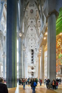 Antonio Gaudi, Barcelona Catalonia, Glass Design, Valencia, Art Nouveau, Cathedral, Places To Visit, Fall 2018, Building