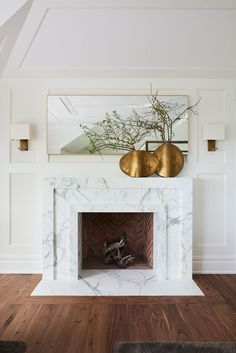 I love this fireplace!