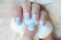 Cotton Candy Nails – #IHeartMyNailArt