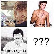 If this is Cameron Dallas at age 19 one can only imagine Hayes Grier at age 19, MagCon Boys