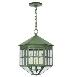 Custom color available--> Hanging Ashbee Lantern HL 469