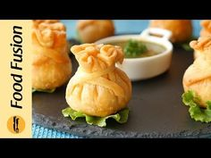 Butter Chicken Potli Samosa Recipe By Food Fusion (Ramzan Special) - Health and Fitness Recipes Chef Recipes, Curry Recipes, Snack Recipes, Dinner Recipes, Butter Chicken, Evening Snacks Indian, Ramzan Special Recipes, Ramzan Recipe