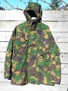 Military GoreTex Jacket Jungle Bdu Wet/Cold Ecwcs by Simplemiles, $93.00