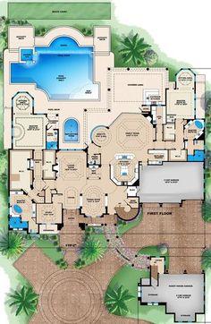 Excellent Master Suite is part of House plans - Luxury House Plans, New House Plans, Dream House Plans, House Floor Plans, Luxury Floor Plans, Mansion Floor Plans, Dream House Interior, Dream Home Design, House Design