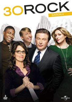 30 Rock - One of the very few shows that makes me laugh every episode! If you ever wanted to know what goes on behind the scenes in making television, this is that show. Featuring the brilliant mind of Tina Fey!