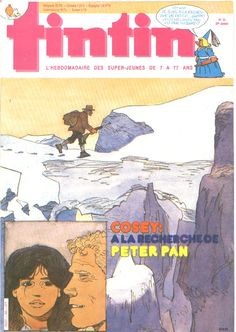 Le Journal de Tintin - Edition Belge - N°  1980 - 1984-35 - Mardi 28 Août 1984 - Couverture : Bernard Cosey