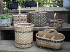 Group of baskets from 2006