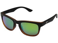 Spy Discord Sunglasses-Soft Matte Black//Green Fade-Gray Green//Green Flash  Unise
