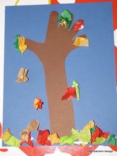 little learners lounge: Autumn Tree
