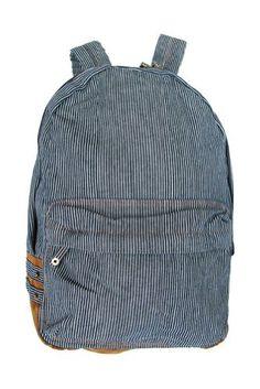 Hickory Denim Backpack