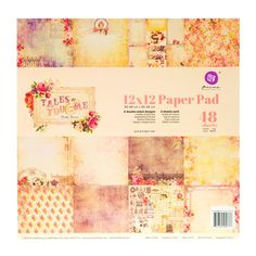 Tales of You & Me Double-Sided Paper Pack - x Diy Projects Videos, Fun Projects, Cool Patterns, Style Patterns, Print Coupons, Scrapbook Paper Crafts, Hobby Lobby, You And I, Card Making
