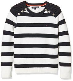 Tommy Hilfiger Mädchen Pullover Girls Stripe CN Sweater L... https://www.amazon.de/dp/B01CJP7PQK/ref=cm_sw_r_pi_dp_x_spBtybFK72J81