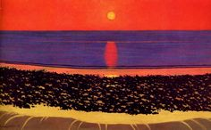Felix Vallotton - Nabi Period - Sunset