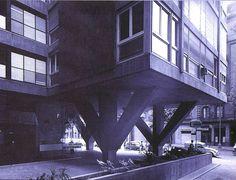 Bonet | Edificio Mediterráneo | 1966 | HIC Arquitectura
