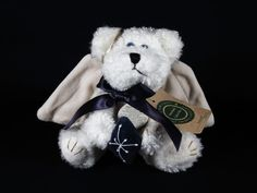 New Boyds Bears Galaxy Blue Snowflake Angel Ornament #56111-01 1998 Retired #Christmas