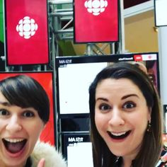 "Greetings, Earthlings! #EHH co-creator @ivyalbuquerque & exec producer @laurenmackinlay stopped by @cbc today to discuss the imminent launch of ""Earthling House Huntress"" on @cbccomedy! Stay tuned for more info! • • • #webseries #scifi #comedy #realestate #realtor #realtorlife #aliens #cbc #comedians #torontocomedy #lightscameraaction #staytuned #localrealtors - posted by Earthling House Huntress https://www.instagram.com/ehh_series - See more Real Estate photos from Local Realtors at…"