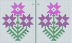 Alıntıdır Cross Stitch Sea, Cross Stitch Beginner, Small Cross Stitch, Cross Stitch Cards, Cross Stitch Flowers, Counted Cross Stitch Patterns, Cross Stitch Designs, Cross Stitching, Bead Loom Patterns