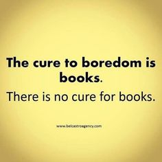 Books are like drugs- they make you happy, make you sad and angry, hurt you, and then you go back for more