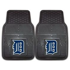 @Overstock - A universal fit makes this two-piece mat set ideal for cars, trucks, SUVs and RVs. The officially licensed Detroit Tigers design in true team colors is permanently molded of vinyl for longevity.  http://www.overstock.com/Home-Garden/Fanmats-Detroit-Tigers-2-piece-Vinyl-Car-Mats/6042943/product.html?CID=214117 $27.92