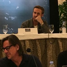 "I snapped this ""Hey Girl""esque photo of Ryan Gosling at THE BIG SHORT junket. Enjoy, world!"