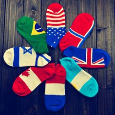 >> Click to Buy << 2017 New Fashion Women Socks National Flag Design Pattern Men Ankle Cotton Socks High Quality Breathable College Calcetines 099 #Affiliate