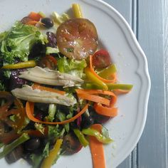 Ensalada con anchoas en aceite caseras. #Gourmetbilbao