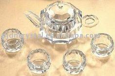 crystal tea set Traditional Teapots, Swarovski Ornaments, English Afternoon Tea, Tea Culture, Cream Tea, Glass Figurines, Tea Infuser, High Tea, Blown Glass