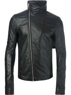 Rick Owens Leather Jacket - Nike - Via Verdi - Farfetch.com