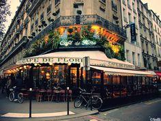 Café de Flore – where Jean-Paul Sartre was a regular in the Second World War! Other famous visitors include Simone de Beauvoir, Pablo Picasso and Karl Lagerfeld.