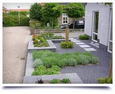 Small Front Yard Landscaping, Modern Landscaping, Backyard Landscaping, Dream Garden, Home And Garden, Diy Garden Projects, Yard Design, House Front, Holland