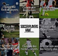 SO TRUE! take that anyone else who dis' soccer... We comin out to get u!!!!