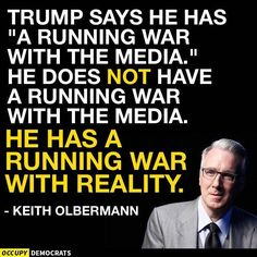 When the media reports what Trump says or does, he goes Crazy!!!